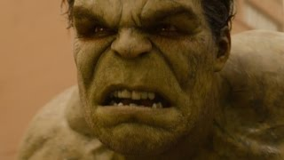 Avengers 2: Age of Ultron | Hulk vs. the Hulkbuster FIRST LOOK clip (2015) thumbnail