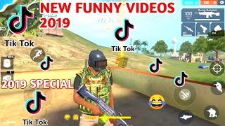 FREE FIRE BEST FUNNY TIKTOK VIDEO 2019 || ALL FUNNY MOMENT IN FREE FIRE 2019 SPECIAL