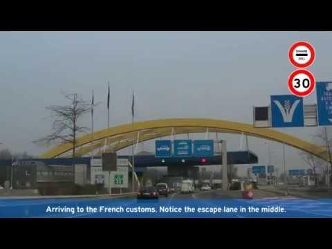 [F][CH] A41 - A1 - A1a Saint-Julien-en-Genevois - Genève