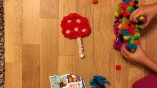 How to make a mushroom out of bunchems