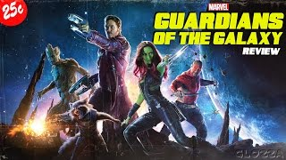 GUARDIANS OF THE GALAXY (2014) Review - Gute Unterhaltung #GLOZZA approved