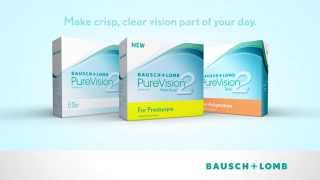 bausch lomb pure vision 2 multifocal contact lens for presbyopia