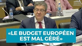 LE BUDGET EUROPÉEN EST MAL GÉRÉ !
