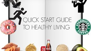 Quick start guide to healthy living | easy tips and what worked for me |liv