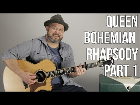 Queen Bohemian Rhapsody Part 1 Chords and Song