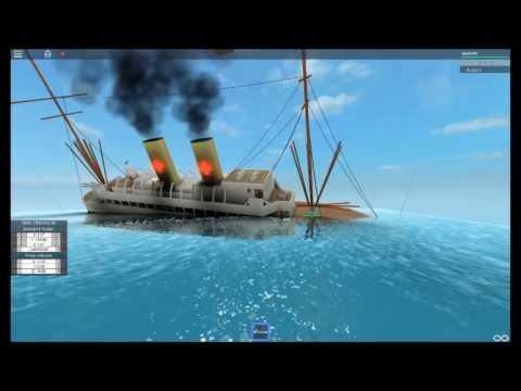Roblox Ship Sinking (Hospital Ship)