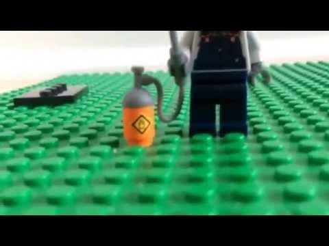 Lego Minifigures Welder from series 11
