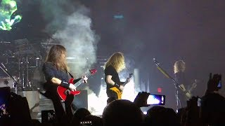 "Megadeth ""Dystopia"" Tour Live & Children of Bodom @ Revention Music Center"