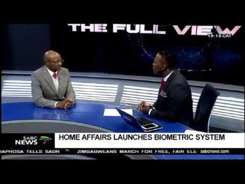 Home Affairs launches Biometric System: Mkhuseli Apleni