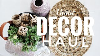 Home Decor Haul | Clearance Hearth & Hand + Thrifted Finds