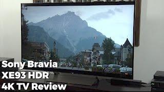 Sony BRAVIA (XE93) KD-55XE9305 HDR 4K TV Review