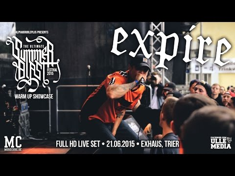 Expire - FULL HD LIVE SET - Summerblast Warm Up - Exhaus, Trier