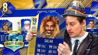 PREMIER LEAGUE TOTS DRAFT CHALLENGE! DRAFT TO GLORY #8! FIFA 18 ULTIMATE TEAM