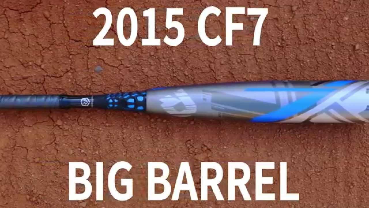 """2 3//4 /""""Big Barrel wtdxcfx 2015 demarini CF7 Senior League USSSA bat 31/""""//21 oz environ 595.33 g"""
