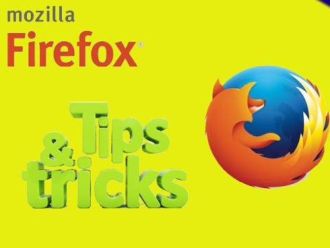 Mozila FireFox(Browser) tips and tricks......