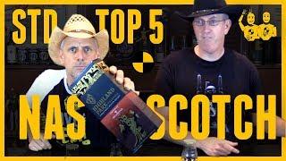 STD TOP 5 NAS SCOTCH (non age statement) Unedited...#380