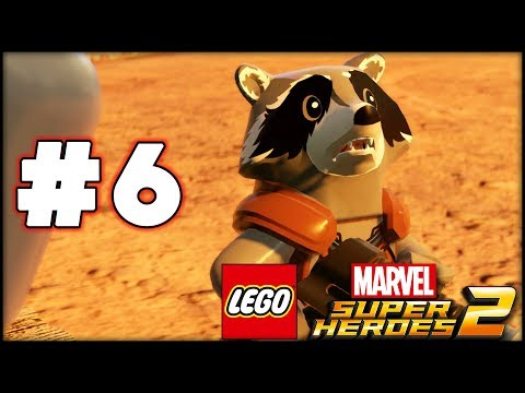LEGO Marvel Superheroes 2 - Part 6 - The Rescue! (HD Gameplay Walkthrough)