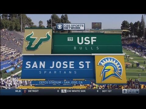 August 26, 2017 - #19 South Florida Bulls vs. San Jose State Spartans Full Football Game