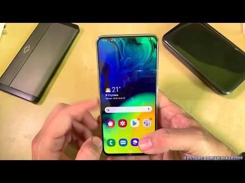 ГадЖеТы: обзор Samsung Galaxy A80 - сравнительный тест видео и возможности камеры/приложения