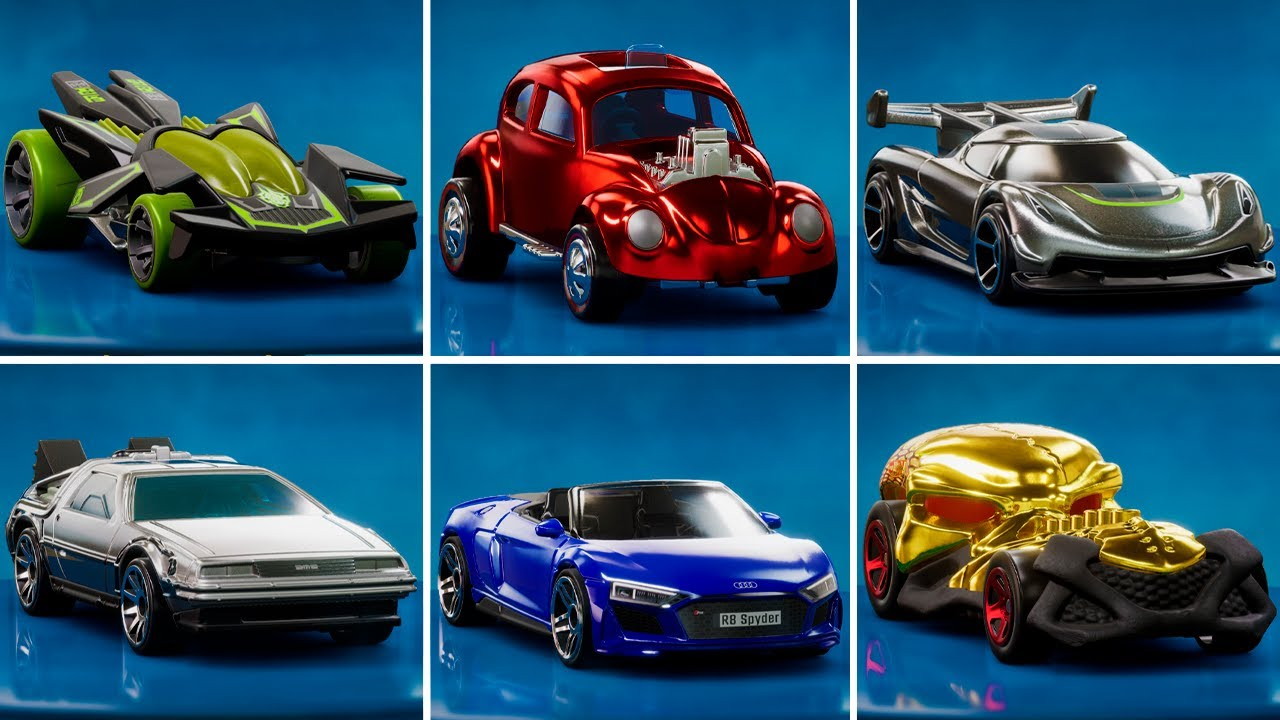 Hot Wheels Unleashed - ALL CARS (68 CARS)