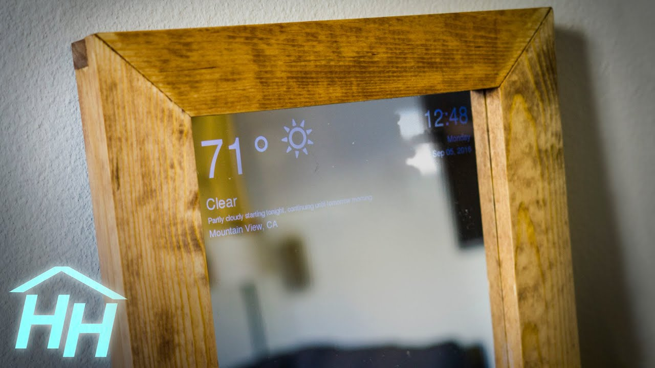 How to Make a Raspberry Pi Smart Mirror - YouTube How To Remove Gl Mirror From Bathroom Wall on