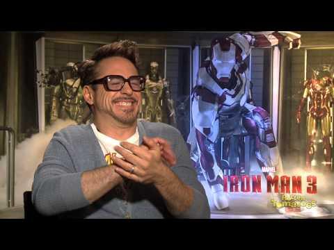 Robert Downey Jr Enjoys Opening His Own Refrigerator