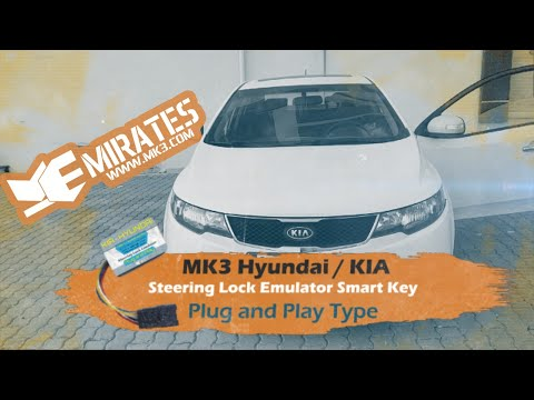 Mk3 Steering Lock Emulator For Hyundai & Kia Hitag-2 / Keyless Systems