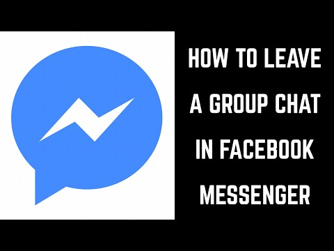 How to block facebook group chat