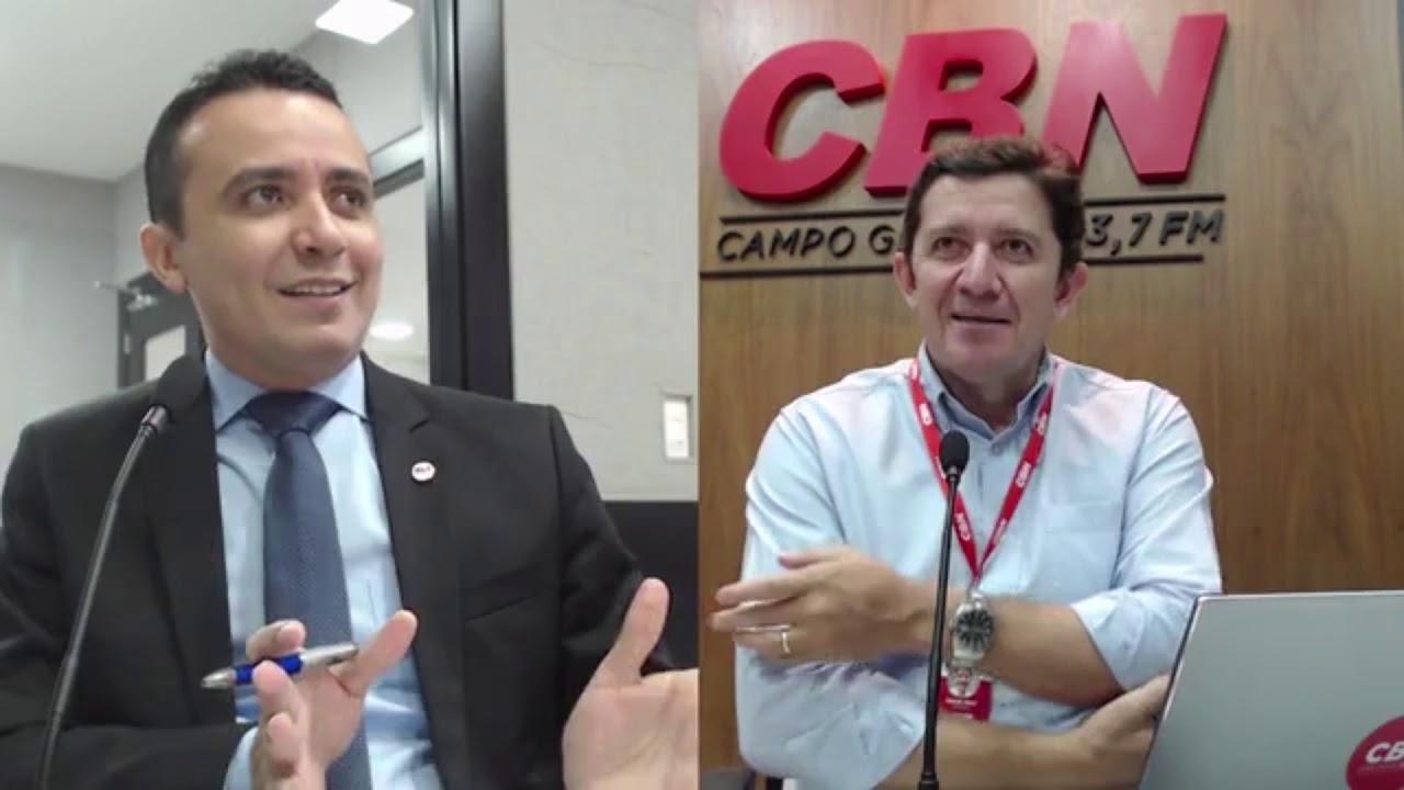 Entrevista CBN Campo Grande: João Paulo Lacerda - presidente Idams