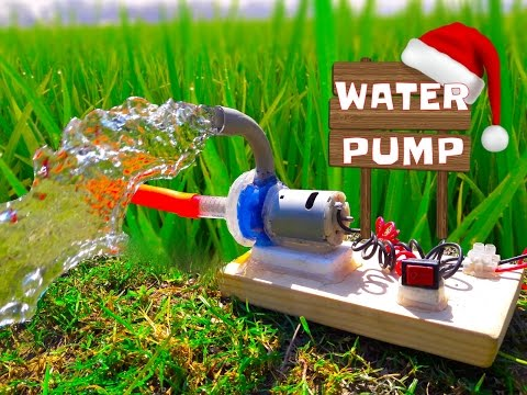 Thumbnail: How to Make Powerful Water Pump - Wonderful Home Made Pump