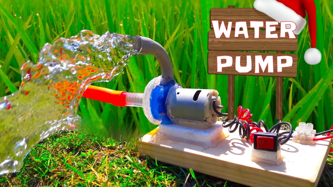 Pump Water How To Make Powerful Water Pump Wonderful Home Made Pump