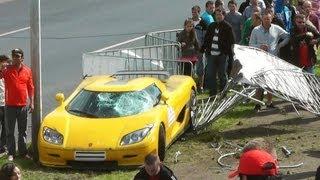 HUGE CRASH GT Polonia 2013 Koenigsegg 2017 Video