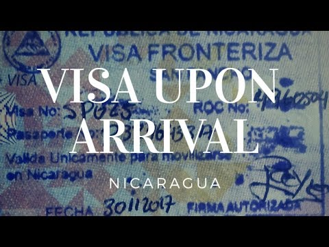 VISA GUIDANCE: Visa Upon Arrival In Nicaragua For Philippine