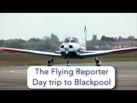 PA28 flight Biggin Hill to Blackpool UK - maximum weight