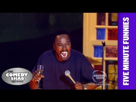 Eddie Griffin⎢I don't like sneaky white people!⎢Shaq's Five Minute Funnies⎢Comedy Shaq
