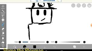 Drawing My Roblox Avatar (Part 1) -using my Ugly homemade stylus-