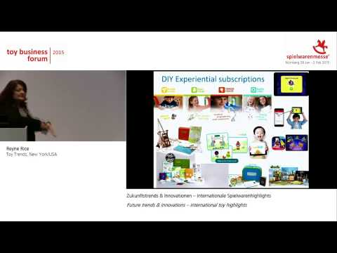 Toy Business Forum 2015: Zukunftstrends & Innovationen – internationale Spielwarenhighlights