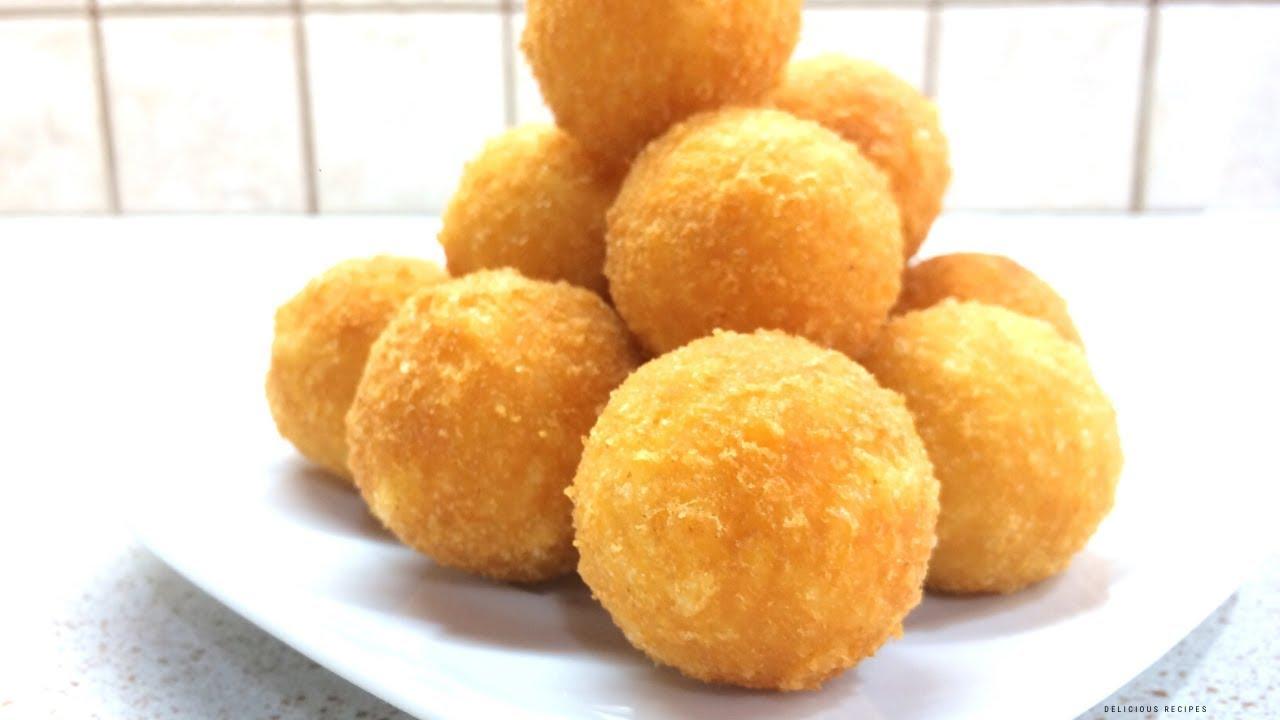 Рецепт знаменитых сырных шариков которые подают в ресторане