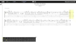 Intro Khúc Yêu Thương - Trọng Vũ (tab guitar Haketu)