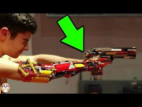 10 CREAZIONI LEGO DI UN ALTRO LIVELLO