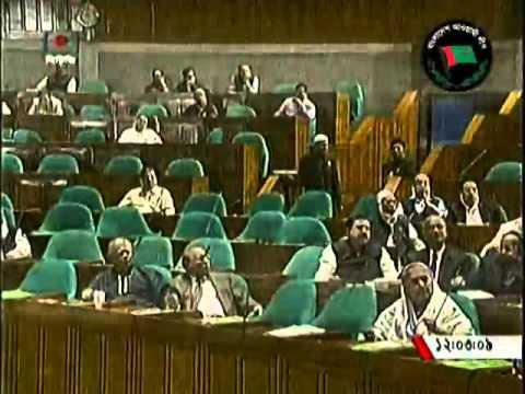 Prime Minister Sheikh Hasina on the national parliament, 16 November 2014
