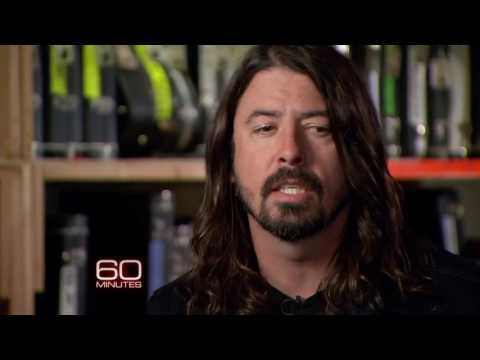 Dave Grohl and Taylor Hawkins talk about bands.