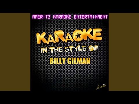 Warm & Fuzzy (In the Style of Billy Gilman) (Karaoke Version)