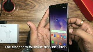 Samsung galaxy note 9 clone kk concept unboxing and review