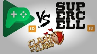 Google Play vs Supercell Id Clash of clans | How To Fix Supercell ID Problem | Priya Prakash Varrier