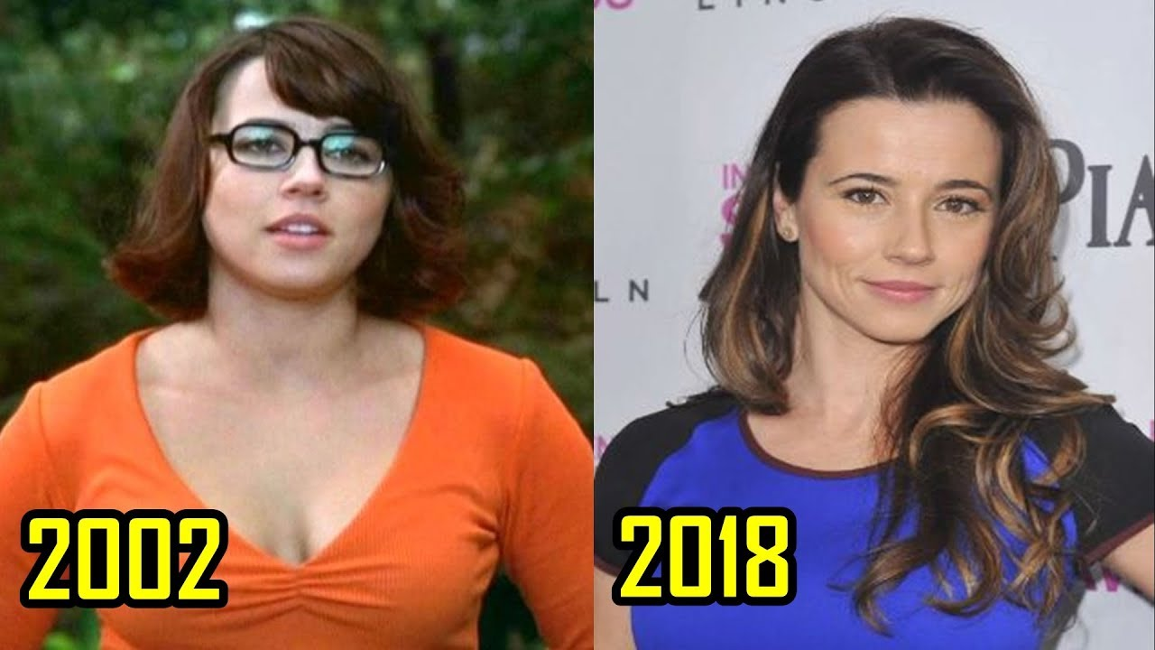 Scooby Doo 2002 Cast Then And Now 2018 Youtube