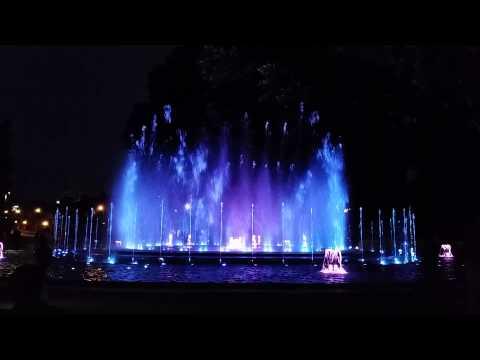 Musical Fountain - Budapest - Margaret Island