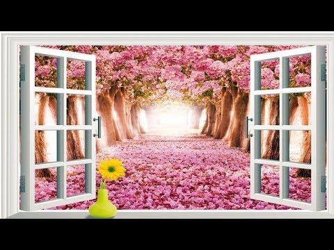 pink-rose-wallpaper-for-walls-for-living-room