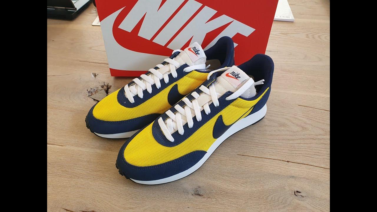 NIKE Air Tailwind 79 retro yellow blue