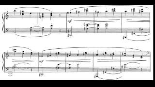 M. Ravel. Valses Nobles Et Sentimentales. VI-Vif. Partitura E Interpretación